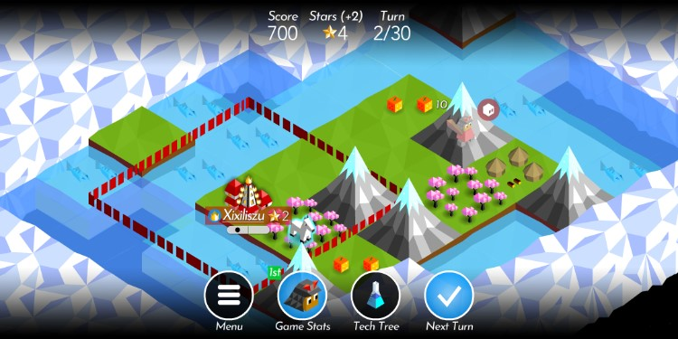 screenshot the battle of polytopia