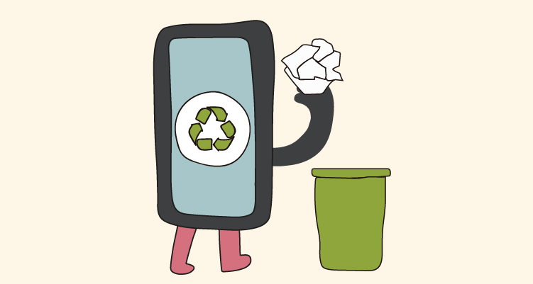 Aplicaciones que te ayudan a reciclar