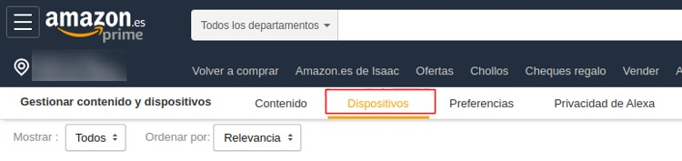gestion de dispositivos amazon web