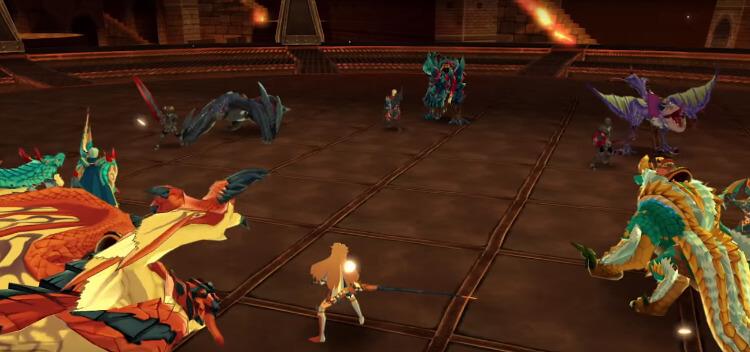 Monster Hunter Riders screenshot