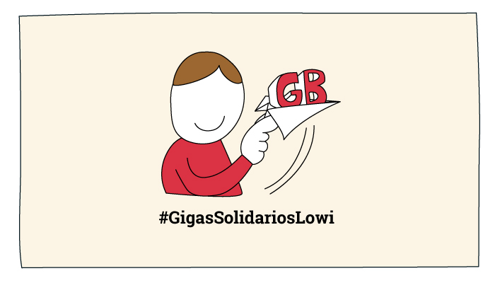#GigasSolidariosLowi
