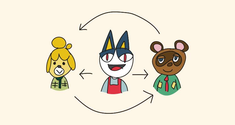 ¿Cómo se conectan Animal Crossing: New Horizons y Animal Crossing: Pocket Camp?