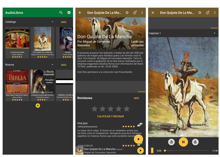 Librivox screenshots