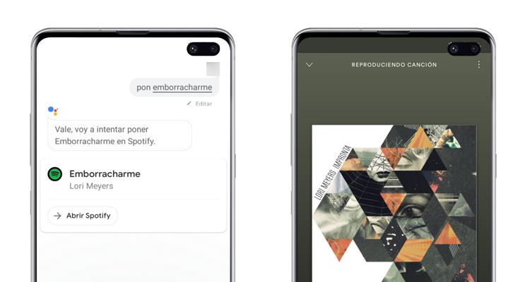 poner música google assistant