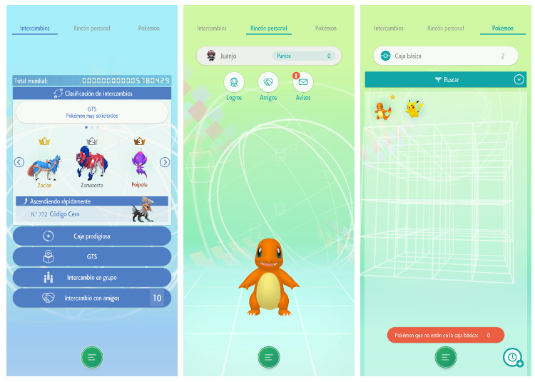 pokémon home screenshot