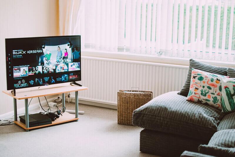 Netflix en una Smart tv.