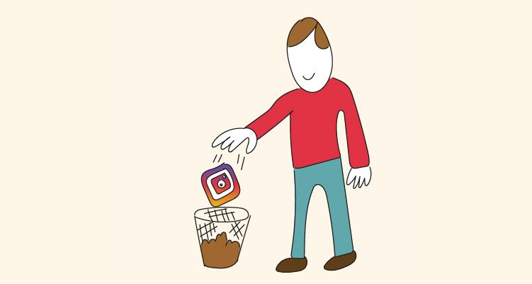 Cómo eliminar una cuenta de Instagram definitivamente