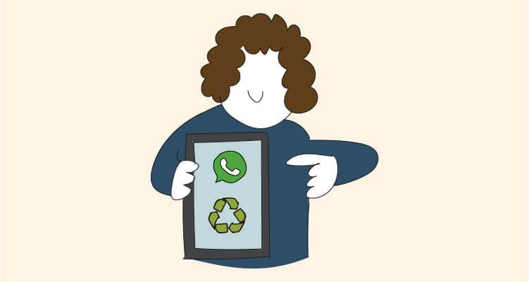 Cómo recuperar las fotos eliminadas de WhatsApp