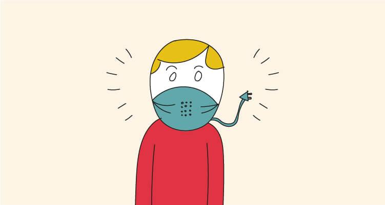 ¿Te pondrías una mascarilla inteligente? Así son las mascarillas del futuro