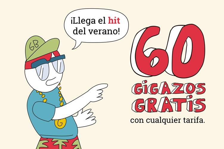 ¡Los 60 GIGAZOS gratis de Lowi han vuelto!
