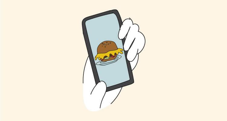 Las mejores aplicaciones de comida a domicilio