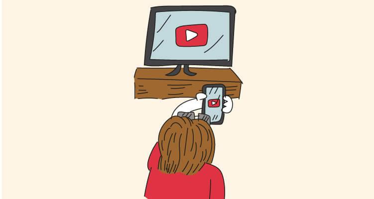 ¿Cómo ver vídeos de YouTube en la tele con el móvil?