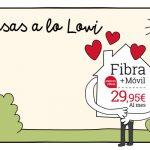 Casas a lo Lowi: ¡Llega la nueva promoción de Fibra + Móvil!