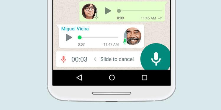 Audios de Whatsapp en texto